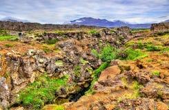 Thingvellir National Park, a UNESCO World Heritage Site - Iceland Royalty Free Stock Image