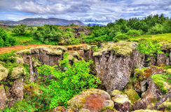 Thingvellir National Park, a UNESCO World Heritage Site - Iceland Royalty Free Stock Images