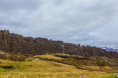 Thingvellir nationalpark Arkivfoto