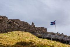 Thingvellir nationalpark Arkivfoto
