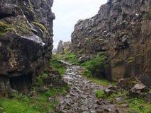 Thingvellir Nationalpark Island Stockbild