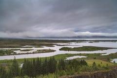 Thingvellir park narodowy obrazy stock