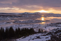Thingvellir park narodowy zdjęcie royalty free