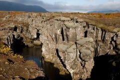 Thingvellir Rift Valley - Iceland. Thingvellir Rift Valley in Iceland Royalty Free Stock Image