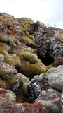 Thingvellir submerging rifts in Iceland Stock Photography