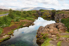 Thingvellir, Thingvallavatn, iceland Royalty Free Stock Photography