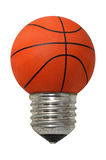 Think Basketball Royalty Free Stock Image