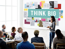 Think Big Attitude Inspiration Concept Stock Photo