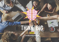 Think Big Thinking Ideas Vision Concept Stock Photography