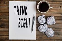 Think Big! Stock Photos