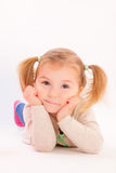 Think children Royalty Free Stock Photos