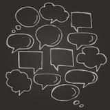 Think cloud symbols Stock Photo