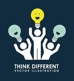 Think different Stock Images