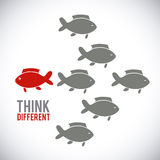Think different Royalty Free Stock Images
