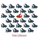 Think different Stock Photography