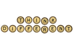 Think differently Stock Photos