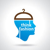 Think fashion abstract vector Royalty Free Stock Photos