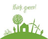 Think green Royalty Free Stock Photo