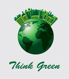 Think Green Stock Image