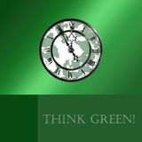 Think Green! Royalty Free Stock Photography