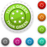 Think green  award. Stock Photography