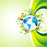 Think green background Royalty Free Stock Photos