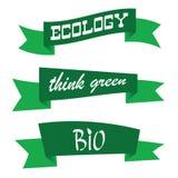 Think green color art vector Stock Photos