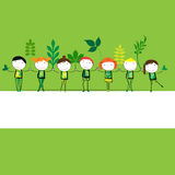 Think green Stock Photos