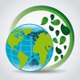 Think green design Royalty Free Stock Photo