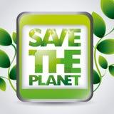 Think green design Stock Image
