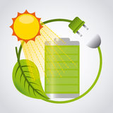 Think green design Stock Photo