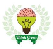 Think green Royalty Free Stock Photos