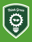 Think green Royalty Free Stock Image