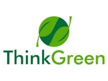 Think green vector illustration