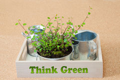 Think Green Royalty Free Stock Images