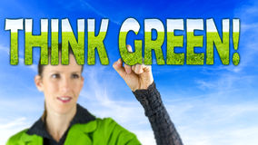 Think green Stock Photography