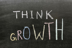 Think growth Stock Photo
