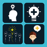 Think icons Stock Images