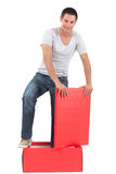 Think out of the box Royalty Free Stock Photography