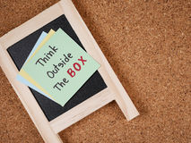 Think outside the box 5 Stock Image
