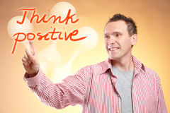 Think positive Royalty Free Stock Photos