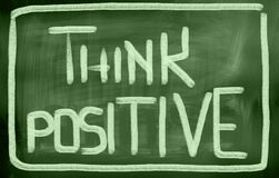 Think Positive Concept Royalty Free Stock Photo