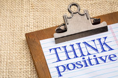 Think positive concept Royalty Free Stock Images