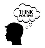 Think positive design Stock Photography