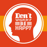 think positive design Royalty Free Stock Photography