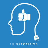 Think positive Stock Photos