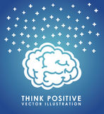 Think positive Royalty Free Stock Image