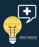 Think positive Stock Images