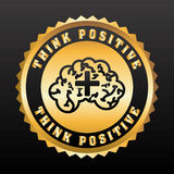 Think positive Royalty Free Stock Images
