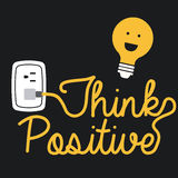 Think positive Royalty Free Stock Photo